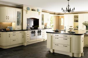 traditional designer fitted kitchens