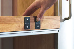 we can add control switches to units to help open drawers and doors