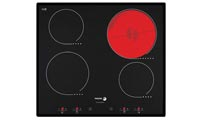 touch control ceramic hob
