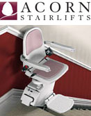 Disabled Kitchens can also install disabled chairs lifts with our partner Acorn Stair Lifts