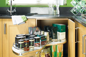 disabled kitchen equipment, handrails, doors openers, pull out drawers...