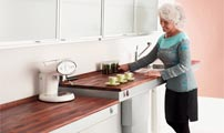 adapted kitchen worktops