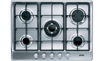 5 burner gas kitchen hob