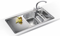 Blanco stainless steel kitchen sinks